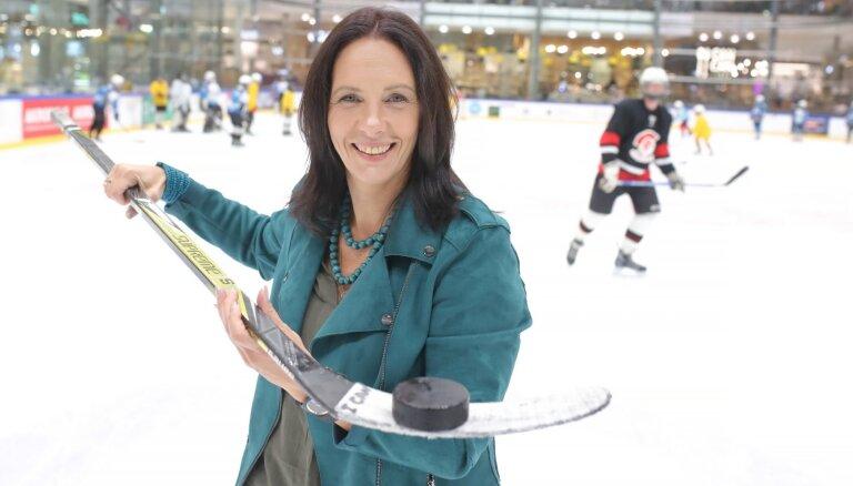 """Тренер по хоккею и дизайнер по интерьеру Ингуна Лукашевича: """"Играть в хоккей могут и принцессы!"""""""