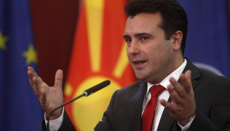 Maķedonijas premjers aicina Grieķiju ratificēt vienošanos par Maķedonijas nosaukuma maiņu