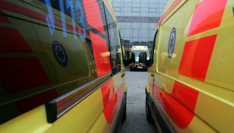 В Елгаве из-за пожара погиб мужчина