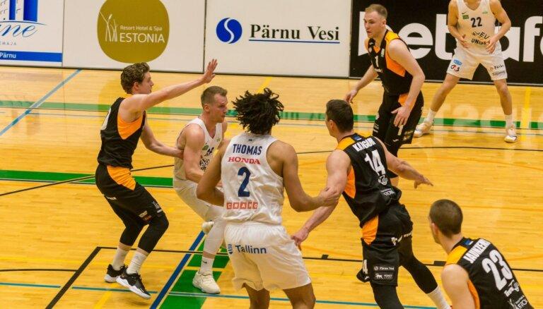 Kaufmanis ar 14 punktiem palīdz 'Kalev'/'Cramo' izlīdzināt rezultātu Igaunijas čempionāta finālsērijā