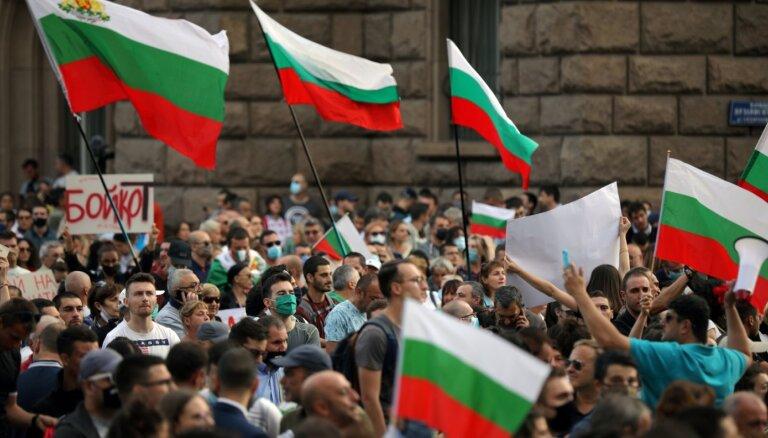 В Болгарии двенадцатый день продолжаются антиправительственные митинги