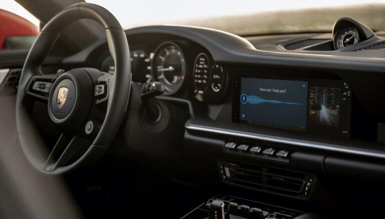'Porsche' modeļi iegūs jaunas paaudzes multimediju sistēmu
