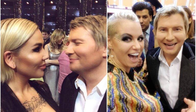 Greifāne un Ušakova debitē jaunā Krievijas dziedāšanas šovā