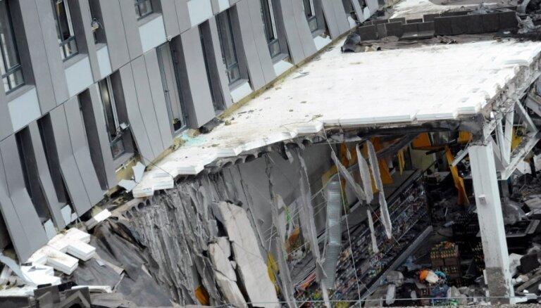 Par jumta nesošajām konstrukcijām sabrukušajā lielveikalā 'Maxima' atbildīgs ražotājs, liecina būvuzraugs