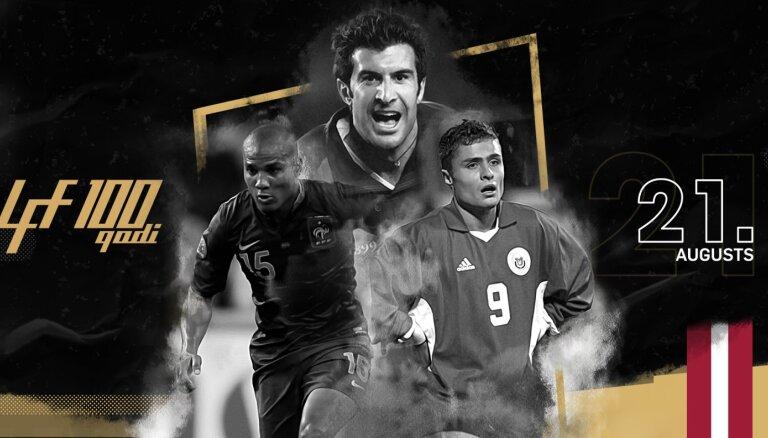 Futbola leģendu spēlē piedalīsies vismaz 15 valstu pārstāvji