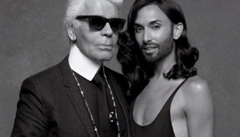 ФОТО: Кончита Вурст стала моделью Карла Лагерфельда