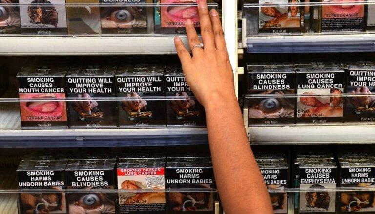 Газета: В Латвии сигареты могут исчезнуть с прилавков магазинов