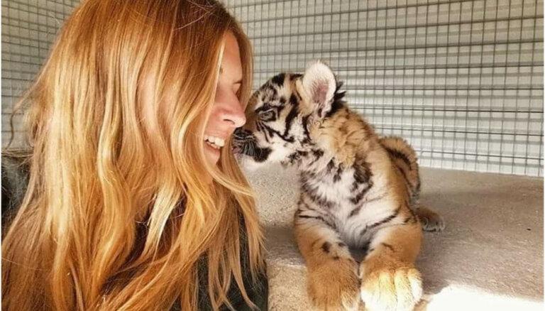 Vaļi Aļaskā un tīģeri Taizemē: Margarita no Rīgas, kas glābj dzīvniekus visā pasaulē