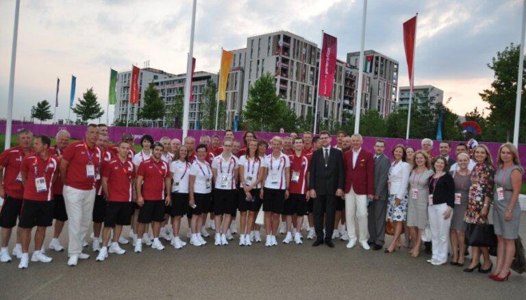 Interesanti fakti par Latvijas olimpisko delegāciju