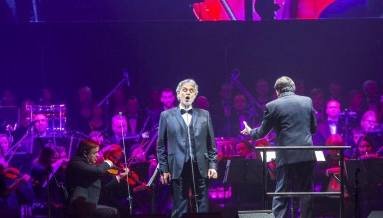 Rīgā 2020. gadā uzstāsies pasaulslavenais tenors Andrea Bočelli