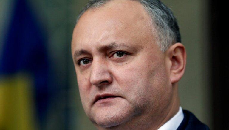 Додон отстранен от должности президента