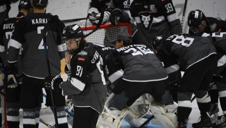 'Rīga' hokejisti piedzīvo zaudējumu MHL mačā Ķīnā