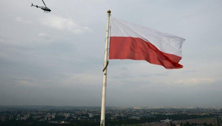 Ar Polijas aizsardzības rūpniecības konsorciju saistītā korupcijas lietā aizturēti seši cilvēki