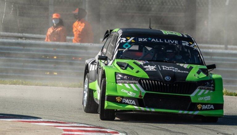 Baumanis triumfē Biķernieku trasē 'Euro RX1' klases sacensībās