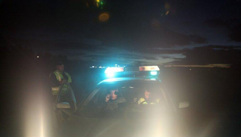 В Кукской волости насмерть сбит пешеход