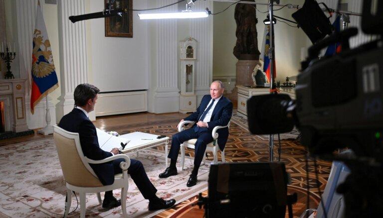 """""""У нас нет привычки убивать"""". Главное из интервью Путина Эн-би-си о Навальном, Байдене и отношениях с США"""