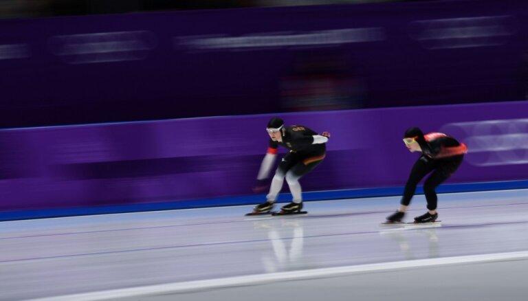 XXIII Ziemas olimpisko spēļu rezultāti ātrslidošanā sievietēm 5000 metru distancē (16.02.2018.)