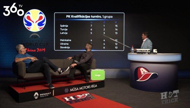 'Hattrick' vadītāji spriež par Latvijas basketbola izlases iespējām kvalificēties Pasaules kausam