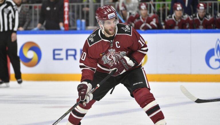 Lauris Dārziņš piedalīsies KHL Zvaigžņu spēlē