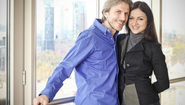 Bez slidām tikai dušā. Izcilie Lietuvas daiļslidotāji Povils Vanags un Margarita Drobjazko