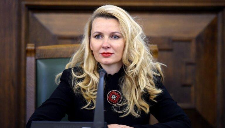 Главой комиссии Сейма по национальной безопасности избрана Инесе Либиня-Эгнере