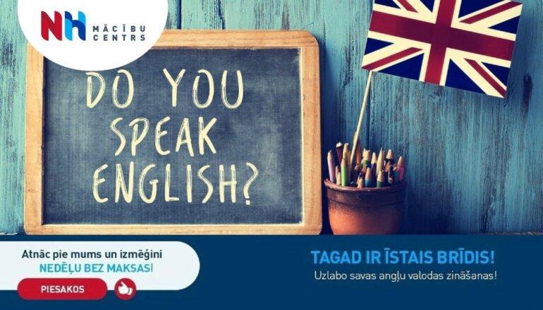 Pārbaudi savas angļu valodas zināšanas