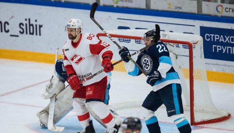 Daugaviņam divas rezultatīvas piespēles; 'Spartak' ceturtā uzvara pēc kārtas