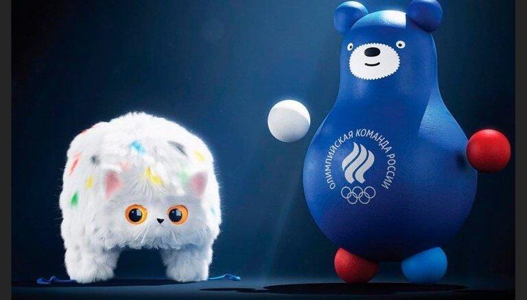 Кот-ушанка и медведь-неваляшка — новые талисманы Олимпийской команды России