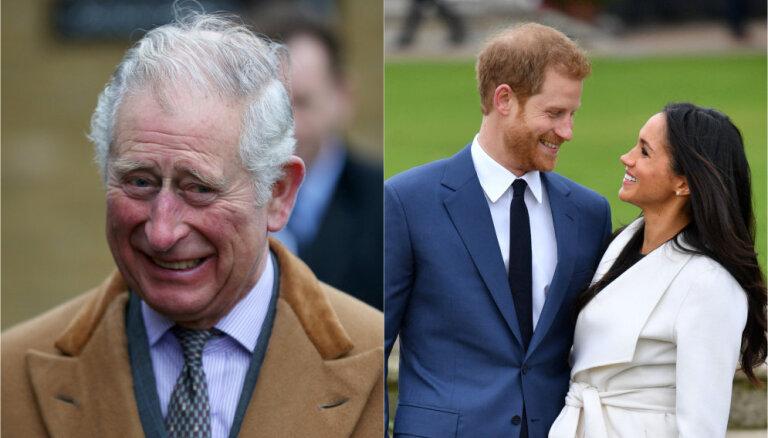 Meganu Mārklu karaliskajās kāzās pie altāra vedīs princis Čārlzs