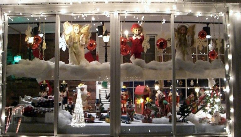 Рига объявила конкурс на лучшее рождественское оформление витрин, фасадов и территории