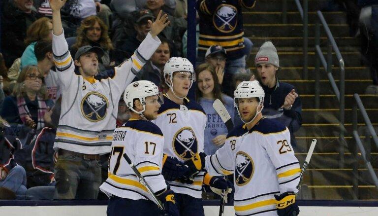'Sabres' nākamajā sezonā NHL spēli aizvadīs Zviedrijā