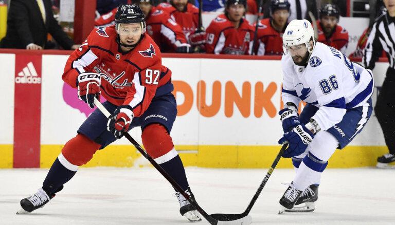 НХЛ: Кучеров и Кузнецов устроили голевую феерию, Овечкин побил два личных рекорда