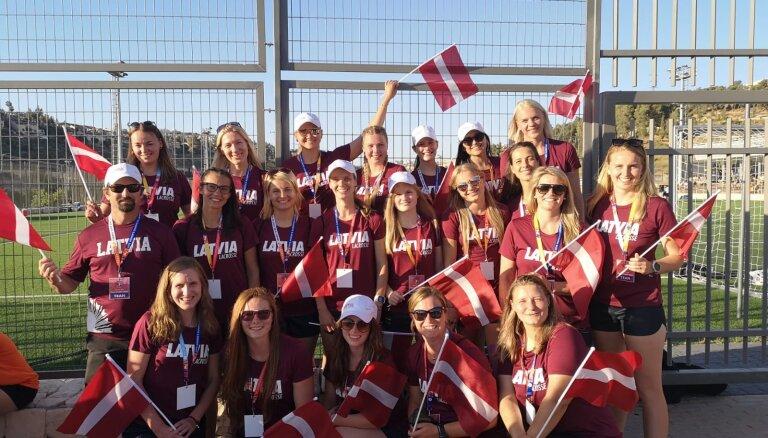 Latvijas sieviešu lakrosa izlase ar uzvaru sāk savu trešo Eiropas čempionātu
