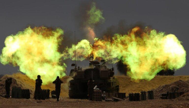 Izraēlas un palestīniešu konfliktā nogalināti 55 cilvēki; vairojas bažas par karu