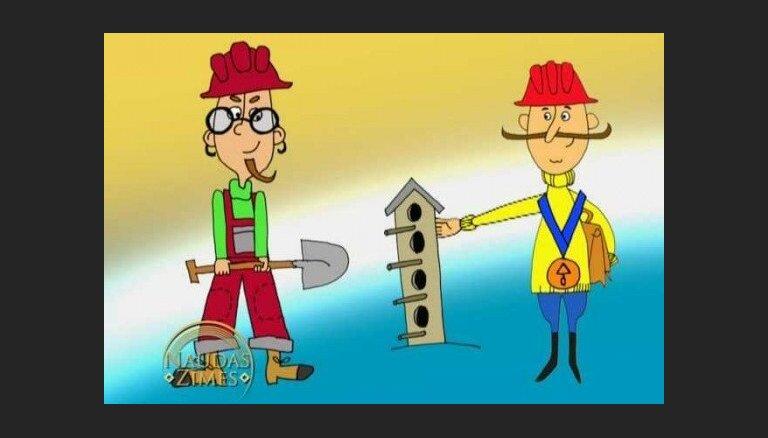 'Naudas zīmes': Ko dara būvnieki?