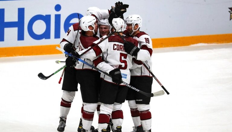 Rīgas 'Dinamo' aizvadīs pirmo KHL sezonas mājas spēli