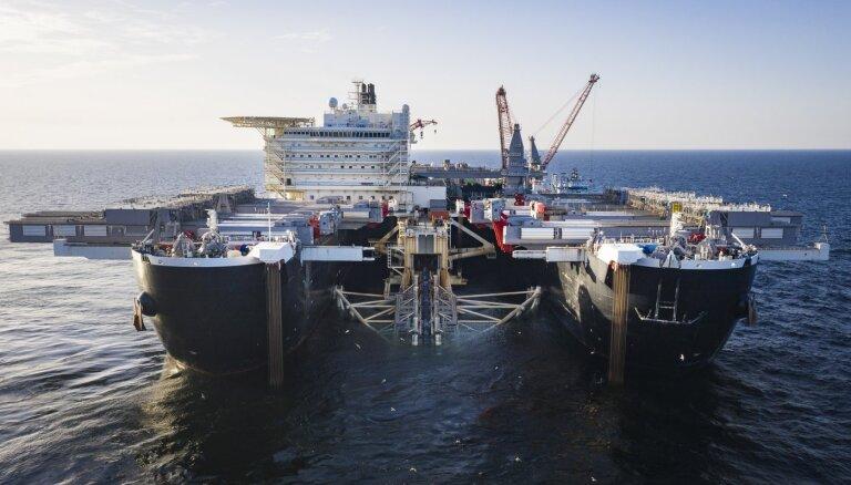 """""""Газпром"""" перестал владеть трубоукладчиком для """"Северного потока - 2"""""""