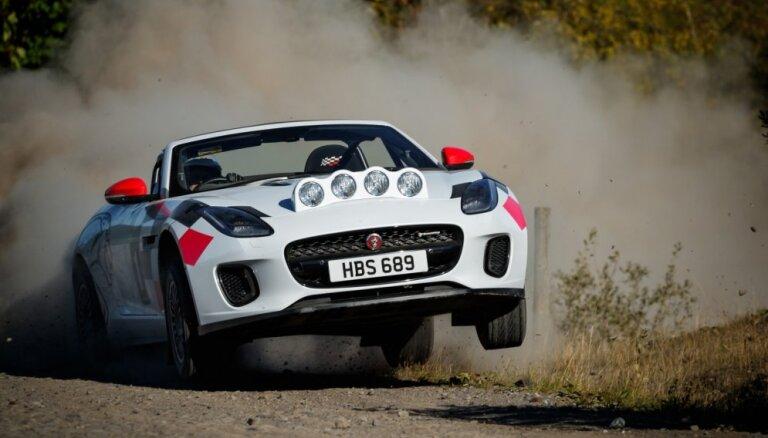 'Jaguar' izgatavojis rallija auto uz 'F-Type' bāzes