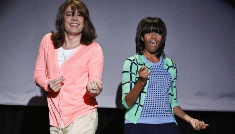 Interneta hits – ASV pirmās lēdijas deja
