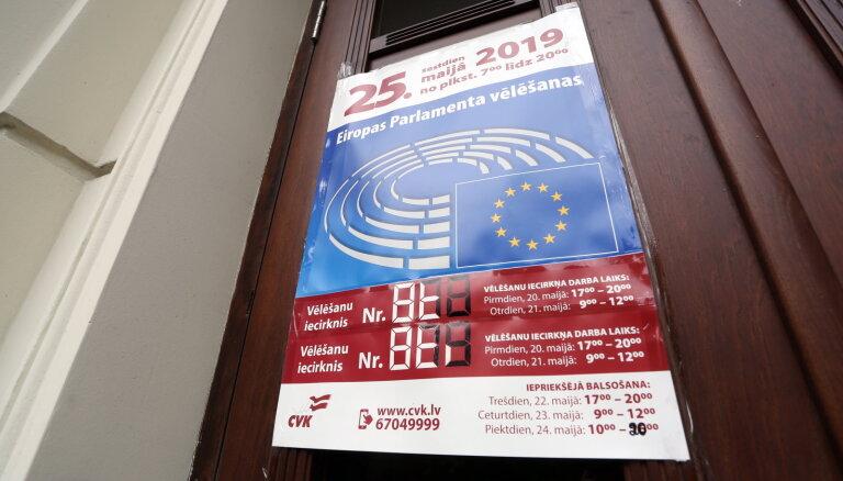 Выборы в Европарламент: за рубежом проголосовало крайне мало латвийцев