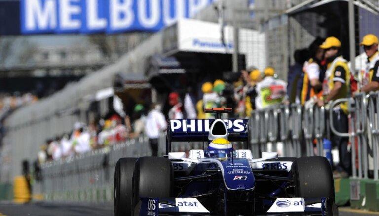 Austrālijas 'Grand Prix' šogad valstij izmaksās 34 miljonus dolāru