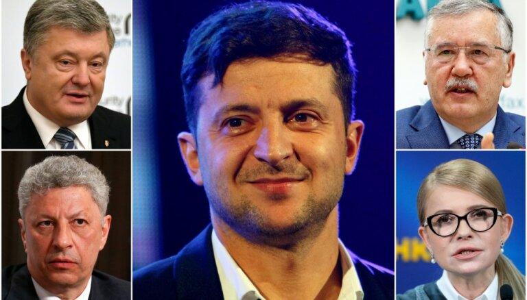 Ukraina meklē līderi: Aktieris un četri citi favorīti