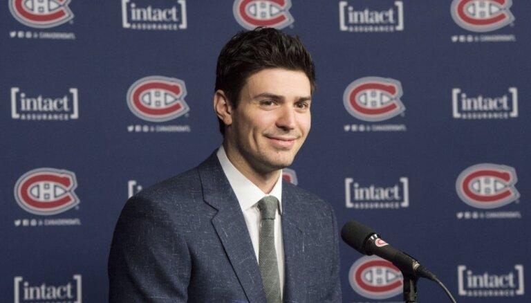 Monreālas 'Canadiens' vārtsargs Praiss - gada sportists Kanādā