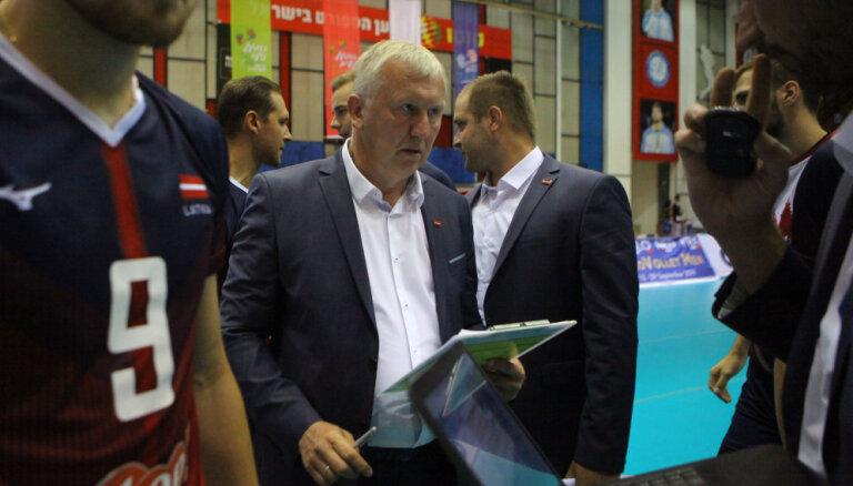 Kēls Latvijas volejbola izlasi varētu vadīt arī nākamajā atlases ciklā