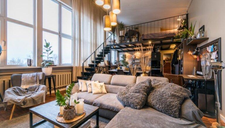 Foto: Iļģuciema pērle – moderns dzīvoklis ar māksliniecisku pieskārienu 'hruščovkā'