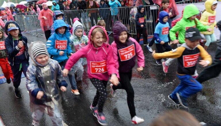 Sākusies pieteikšanās 'Lattelecom' Rīgas maratona 'Rimi bērnu dienai'
