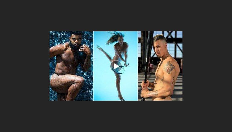 ВИДЕО: Известные спортсмены разделись для очередной версии Body Issue