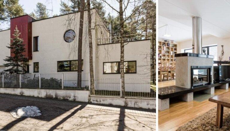 Foto: 595 tūkstošus vērtā māja, kurā dzīvoja bijušais igauņu sportists Nūds