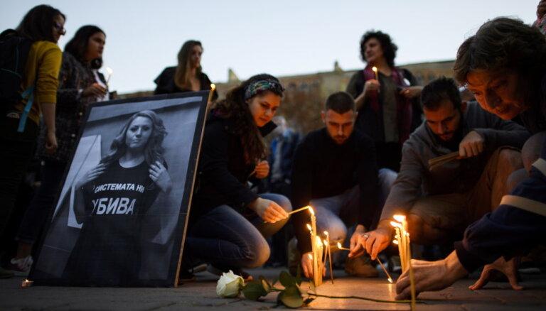 Bulgārijā aiztur iespējamo žurnālistes Marinovas slepkavu