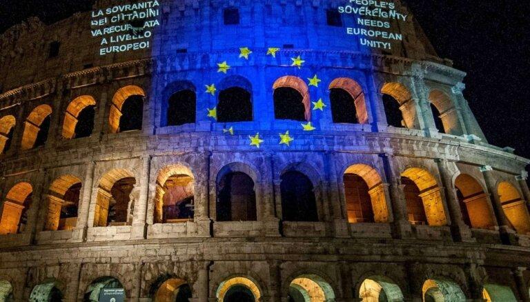 EK oficiāli brīdina Itāliju par novirzi no ES budžeta noteikumiem